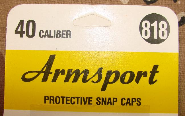 Armsport 40sw Snap Caps