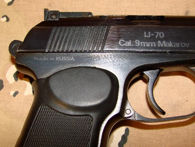 Russian IJ70 9mm Makarov